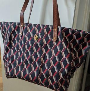 Patterned Designer Tote Bag